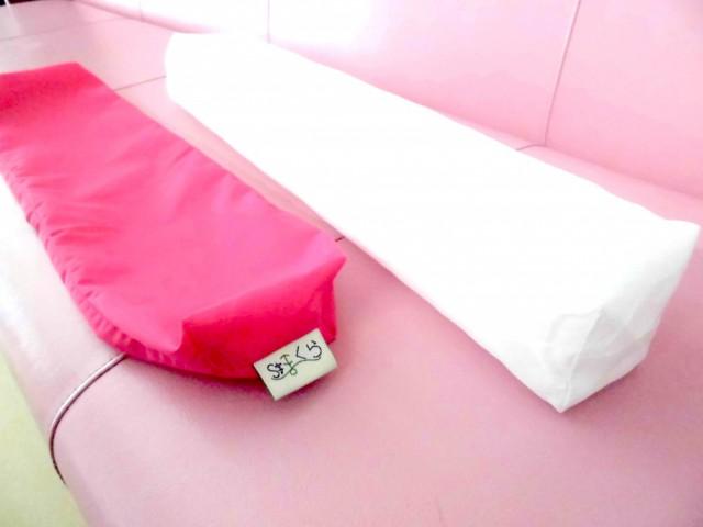 枕のカバーは取り外せます