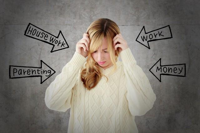 家事・育児・仕事・お金などのストレス