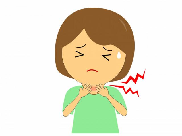 喉の不調:症例⑨